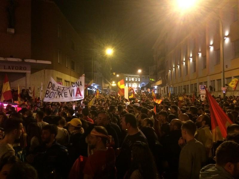 Tifosi Benevento - Festa serie A (13)