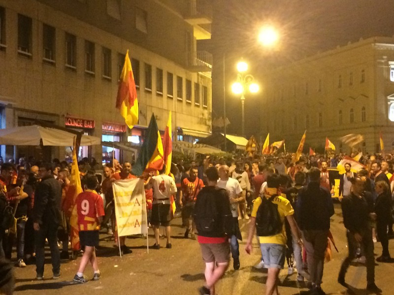 Tifosi Benevento - Festa serie A (16)