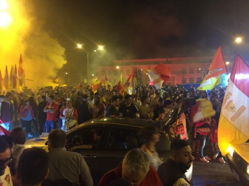Tifosi Benevento - Festa serie A (2)