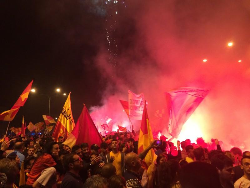 Tifosi Benevento - Festa serie A (20)
