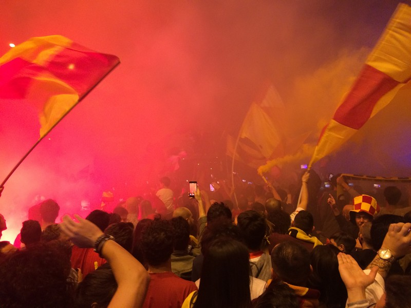 Tifosi Benevento - Festa serie A (21)