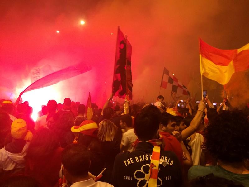 Tifosi Benevento - Festa serie A (23)