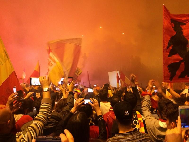 Tifosi Benevento - Festa serie A (25)
