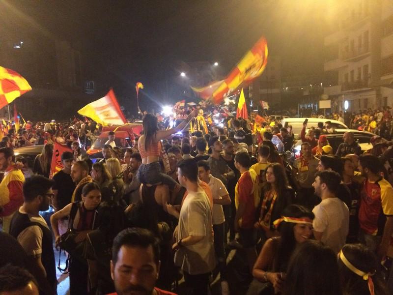 Tifosi Benevento - Festa serie A (3)