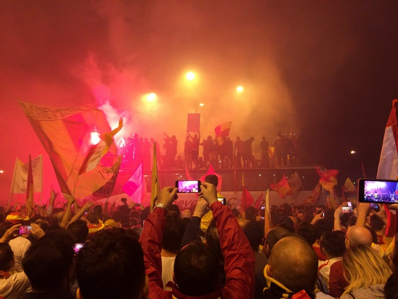 Tifosi Benevento - Festa serie A (30)