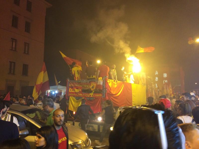 Tifosi Benevento - Festa serie A (32)