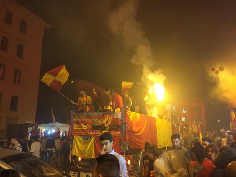 Tifosi Benevento - Festa serie A (33)