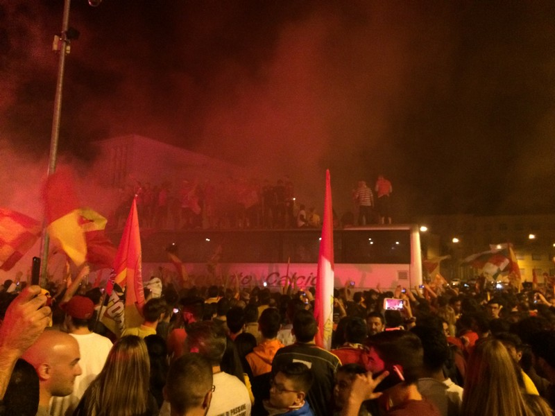 Tifosi Benevento - Festa serie A (34)