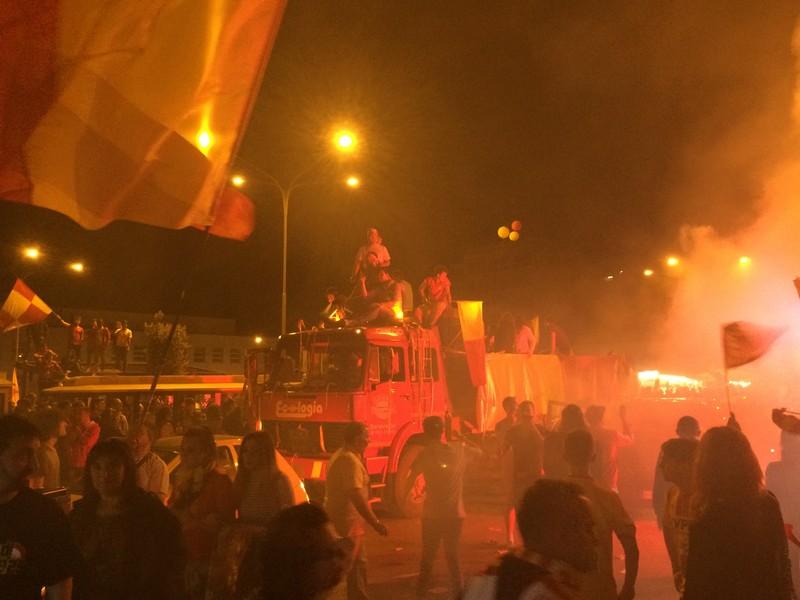 Tifosi Benevento - Festa serie A (36)