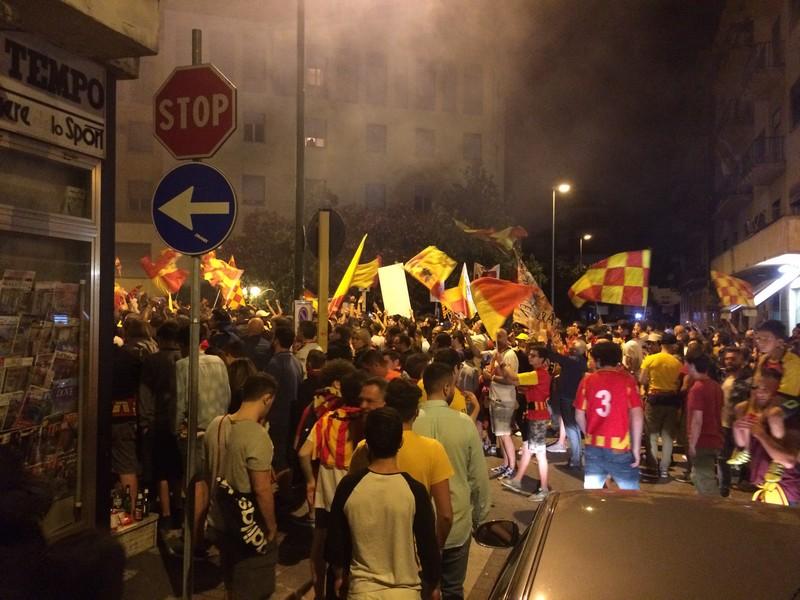 Tifosi Benevento - Festa serie A (37)