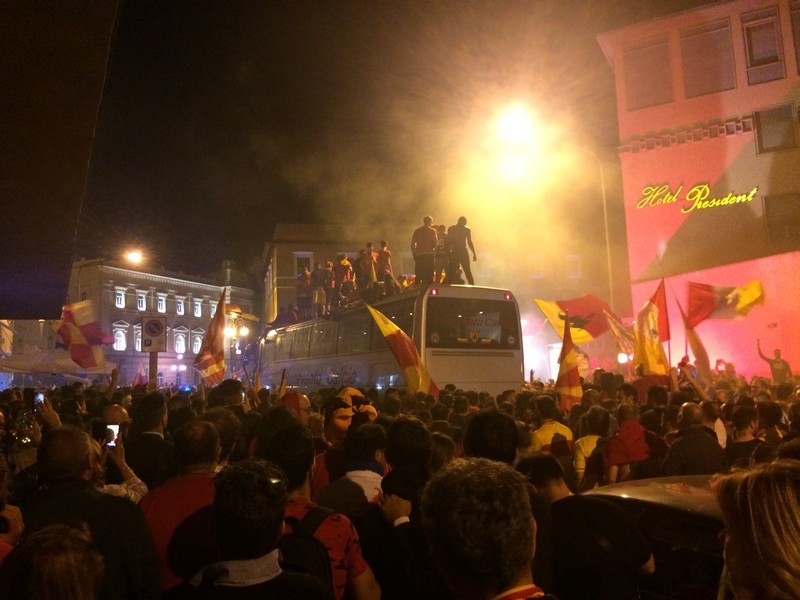 Tifosi Benevento - Festa serie A (38)