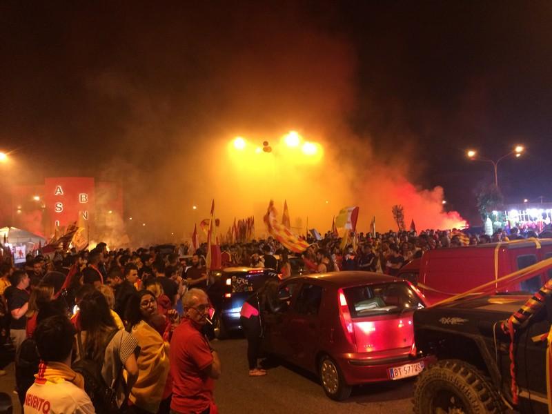 Tifosi Benevento - Festa serie A (4)