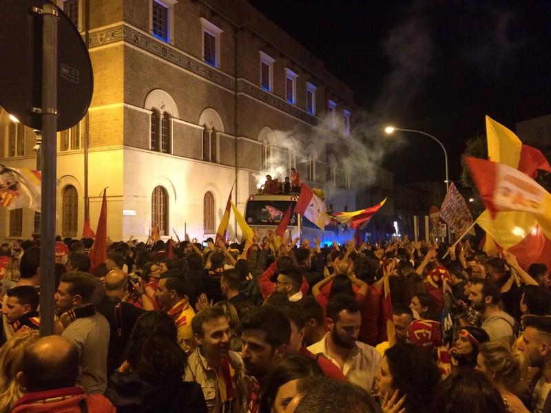 Tifosi Benevento - Festa serie A (44)