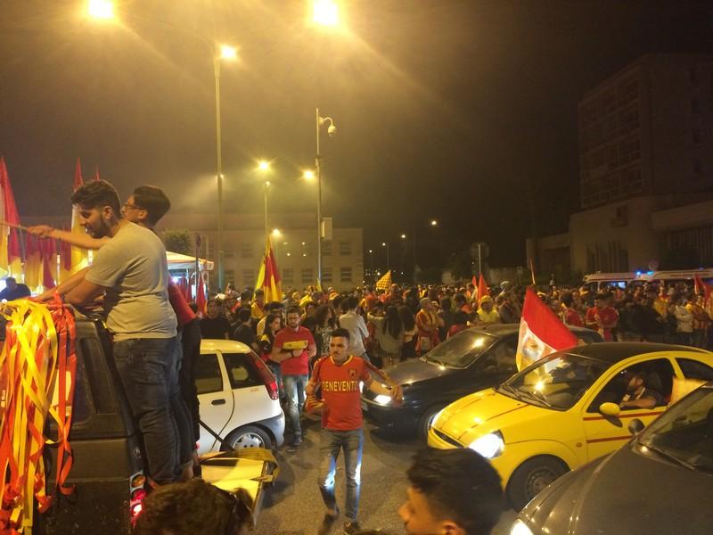 Tifosi Benevento - Festa serie A (5)