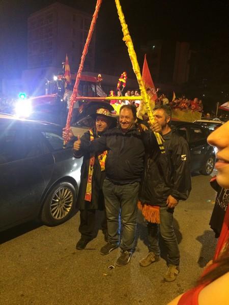 Tifosi Benevento - Festa serie A (7)