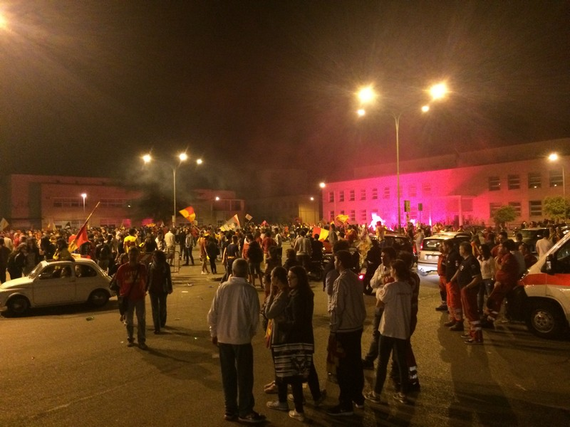 Tifosi Benevento - Festa serie A (9)
