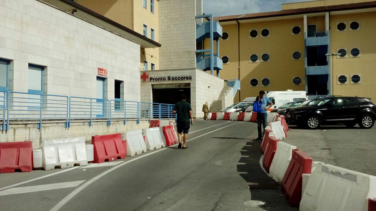 Nuovo ingresso ospedale Moscati