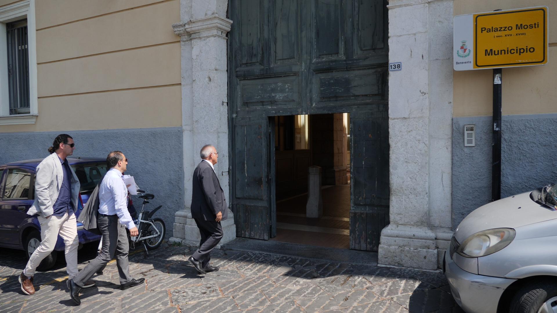 Incontro a Palazzo Mosti su questione stadio 3