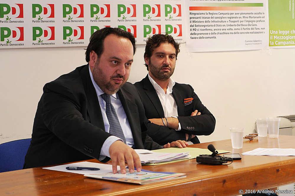 """Il Pd replica ai Cinque Stelle: """"Dimissioni di De Caro? E la Raggi e la Appendino?"""""""
