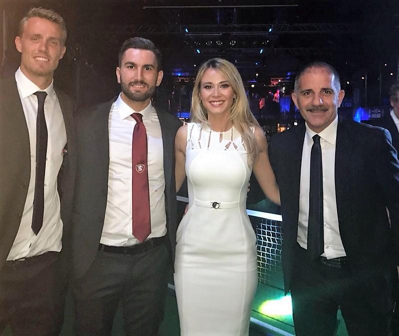 Salernitana: Massimo Coda trionfa ai B best award