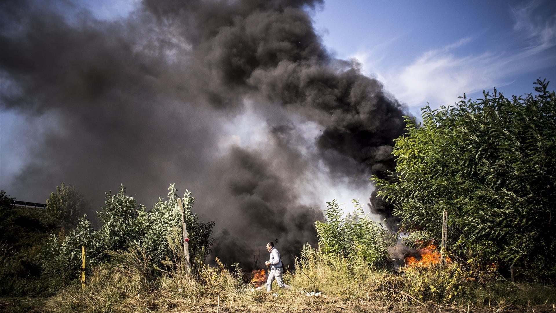 Terra dei Fuochi, controlli straordinari nel Casertano: sequestri e denunce