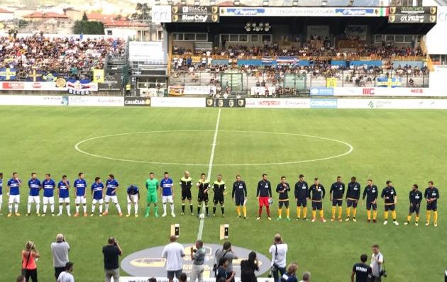 Benevento: antipasto di serie A per la Sampdoria, primo ko blucerchiato