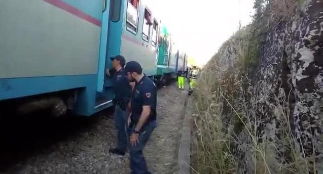 Tragedia nel Casertano: treno travolge e uccide una persona