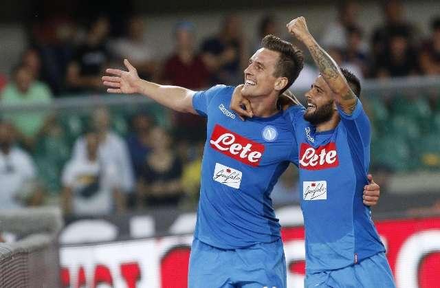 Serie A: Il Napoli espugna il Bentegoti, che tris al Verona