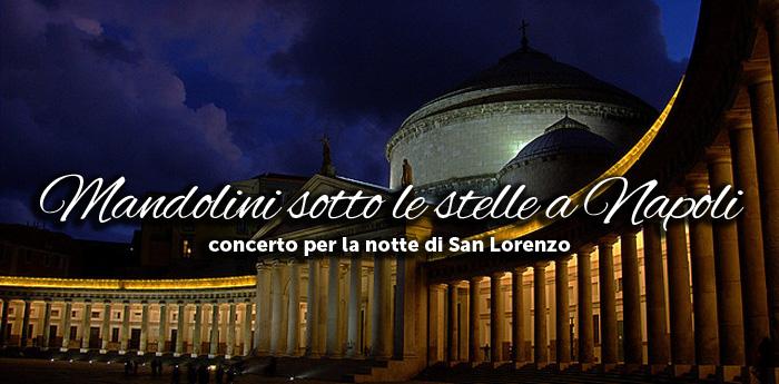 """Piazza del Plebiscito fa da cornice all'edizione di """"Mandolini sotto le stelle"""""""