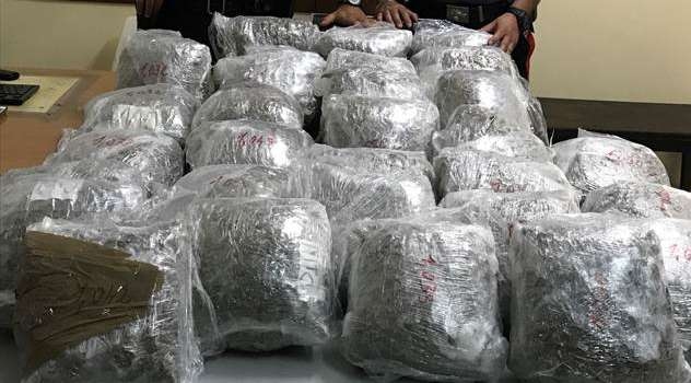 Trentuno chilogrammi di marijuana, arrestato pregiudicato casertano