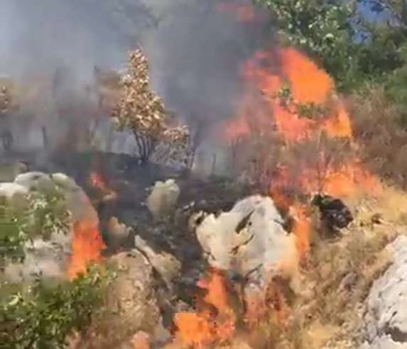 L'Irpinia continua a bruciare: ancora roghi a Montevergine