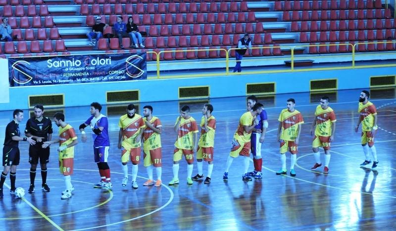 Calcio a 5: Il Benevento sconfitto dal Real San Giuseppe