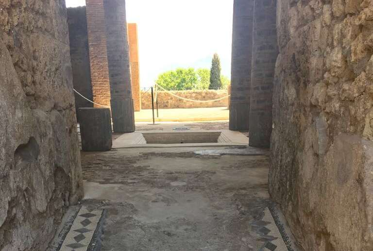 A Pompei aprono le terrazze panoramiche e la casa del Marinaio