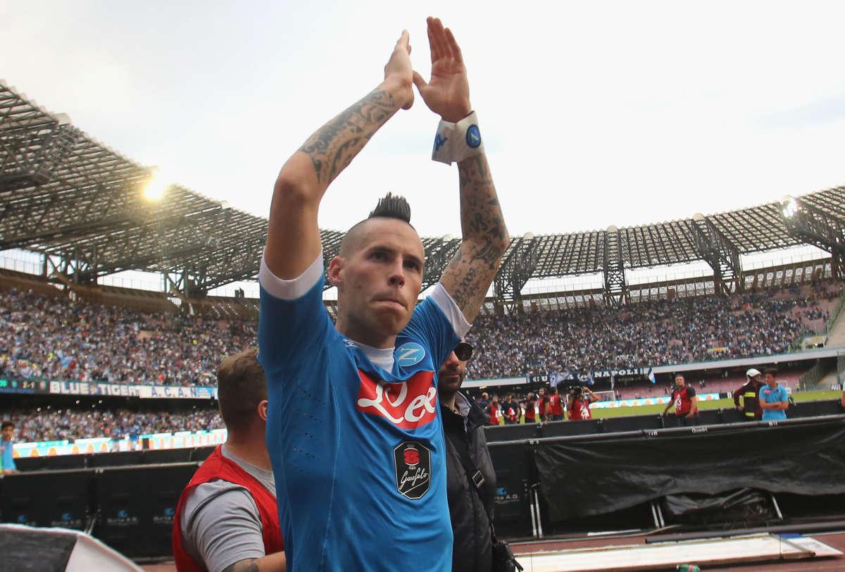 """Il toccante messaggio di Hamsik: """"Napoli, ti amerò per sempre"""""""