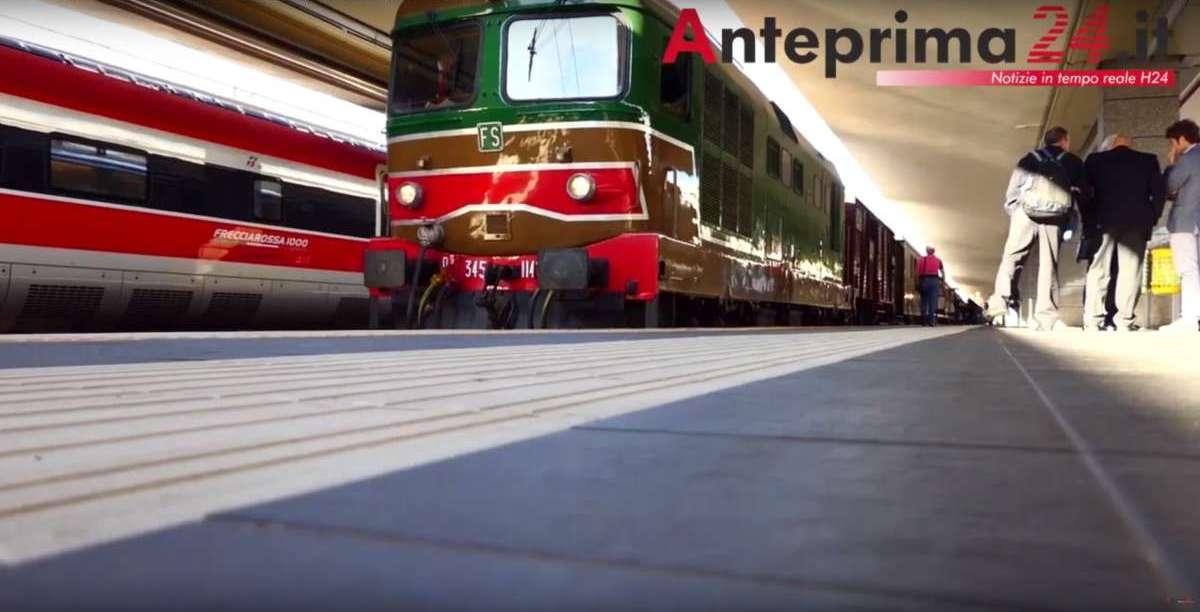 Il treno storico fa tappa alla Fiera di Morcone