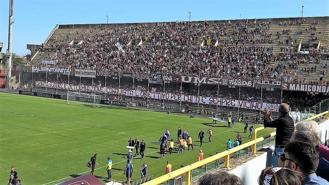 Salernitana, Minala salva Bollini sotto gli occhi di Stellone. Highlights
