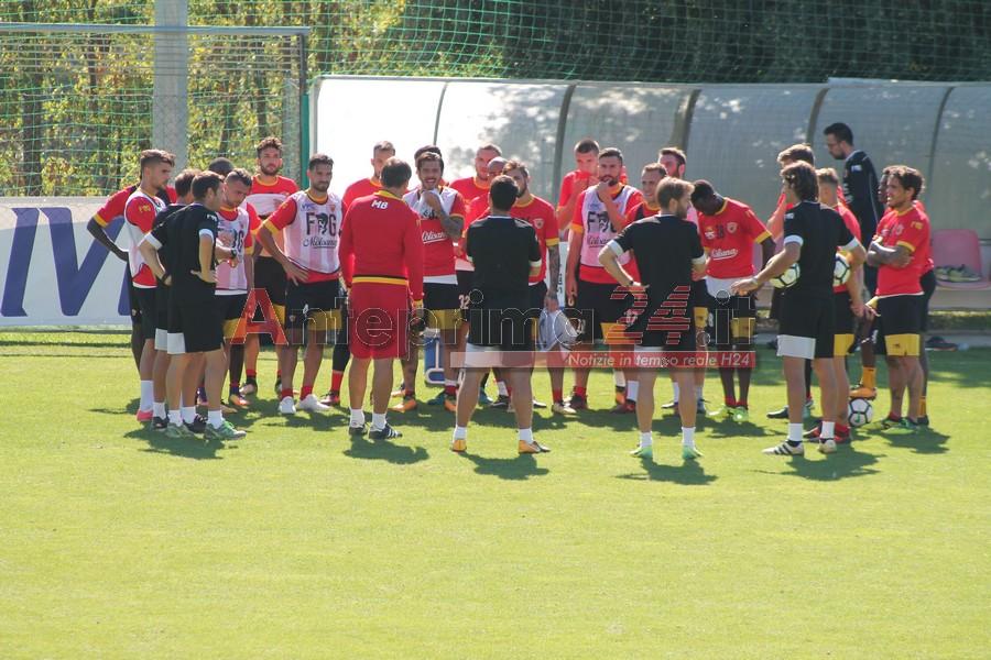 Foto Gallery – L'allenamento del Benevento in vista del Verona