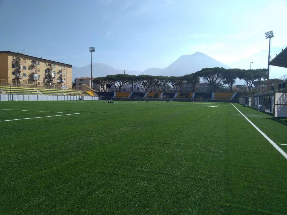"""Castellammare di Stabia, lo stadio """"Romeo Menti"""" si rifà il look"""