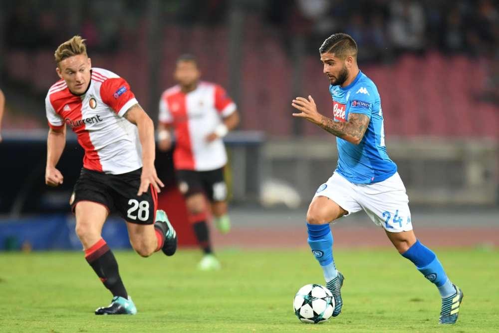 Le scelte di Sarri per il Feyenoord, deciso il sostituto di Insigne