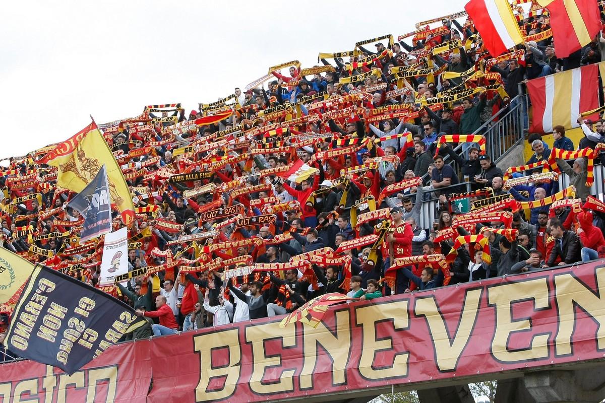 Per il Benevento esordio al Vigorito contro il Lecce