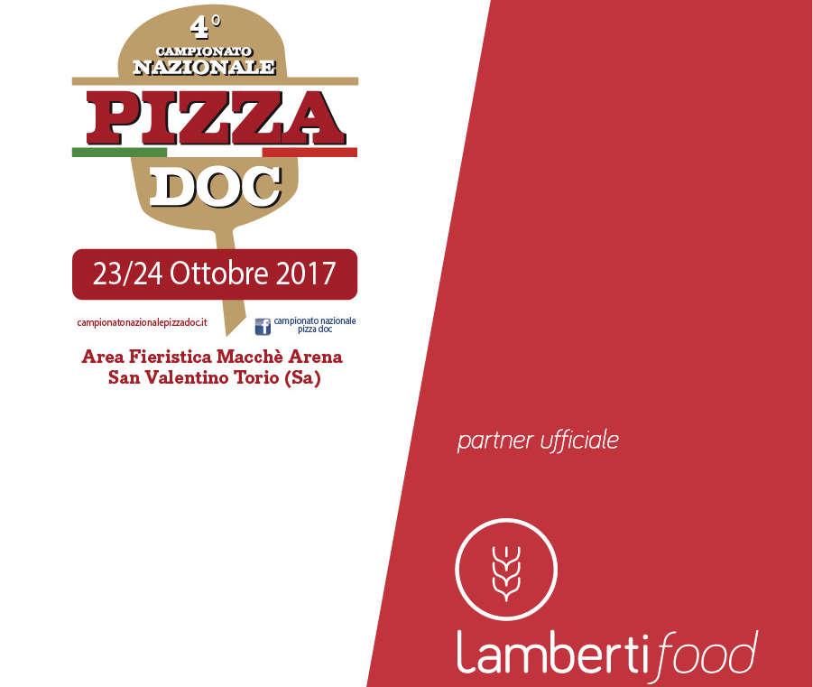 Lamberti Food partner ufficiale del 4° Campionato Nazionale Pizza DOC