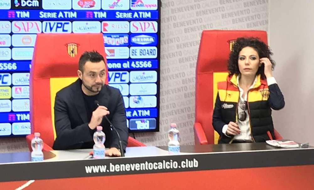 """De Zerbi: """"Sono assatanato, chi non ci crede vada via. Vorrei tutti Costa"""""""