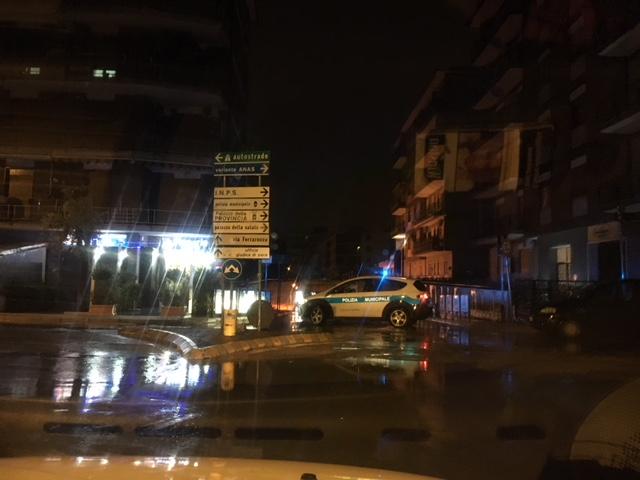 Bomba d'acqua sulla provincia di Caserta, danni ingenti a Recale