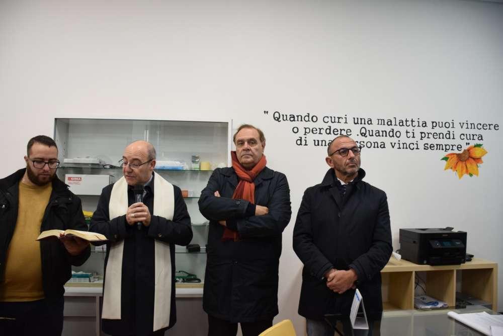 """Caritas inaugurata la Sala Medica per bisognosi """"San Giovanni di Dio"""""""