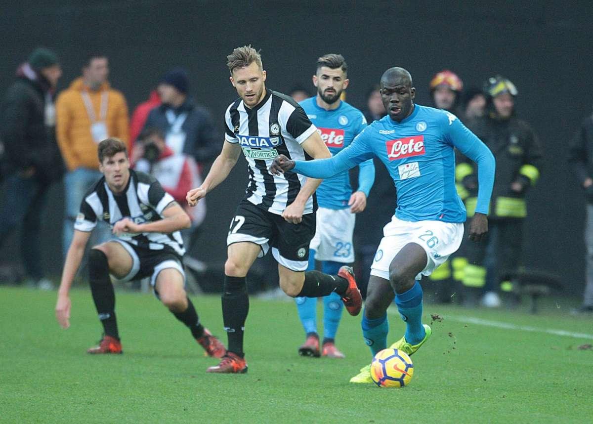 "Koulibaly: ""Tanto rammarico, ora testa all'Udinese e non alla Juventus"""