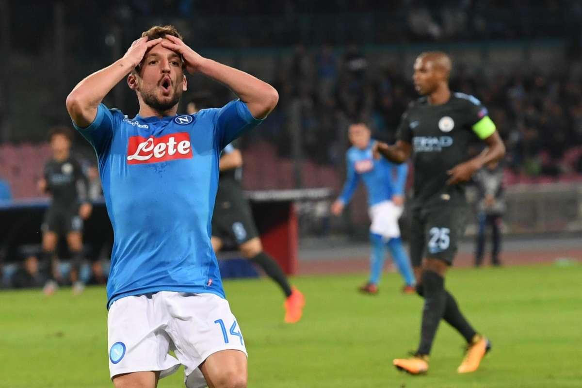 """Napoli, Mertens: """"Peccato, l'Arsenal non è più forte di noi"""""""