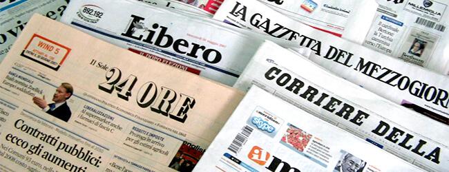 Gli avvisi a Tria, la circolare 'Anti Riace': Salvini monopolizza le prime pagine dei quotidiani