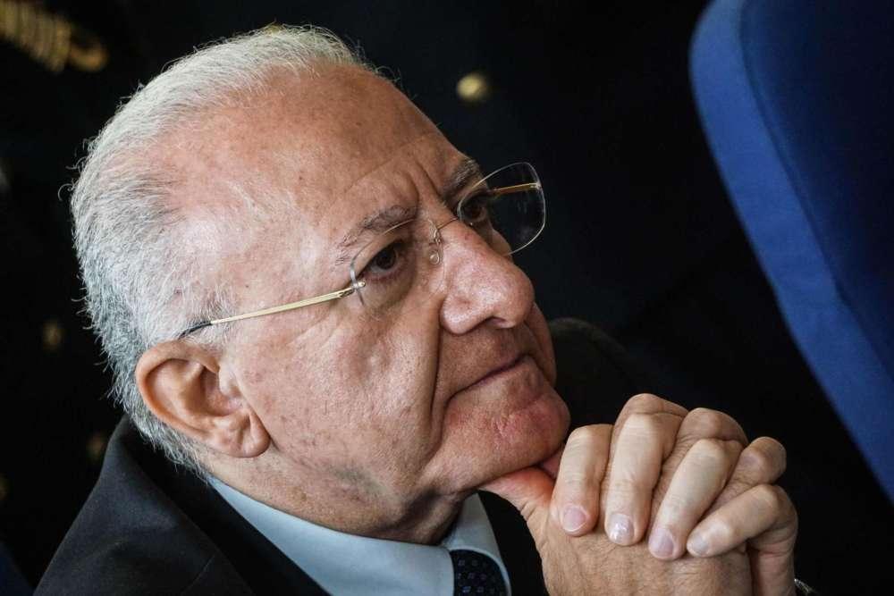 """Decreto Ischia, De Luca: """"Con questo testo ci vorranno decenni per ricostruire"""""""