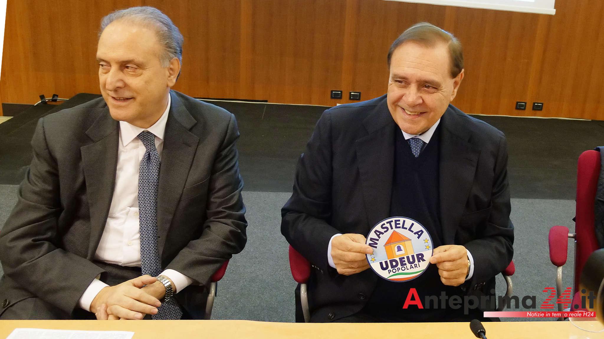Incontro Cesa-Mastella: l'Udeur aderirà a Noi con l'Italia