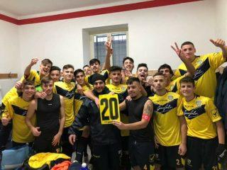 Juniores Gragnano: ultima gara di campionato, i complimenti della società